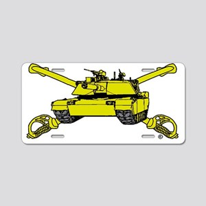 Tank- 15 Aluminum License Plate