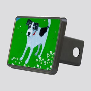Phoenix Jack Russell card Rectangular Hitch Cover
