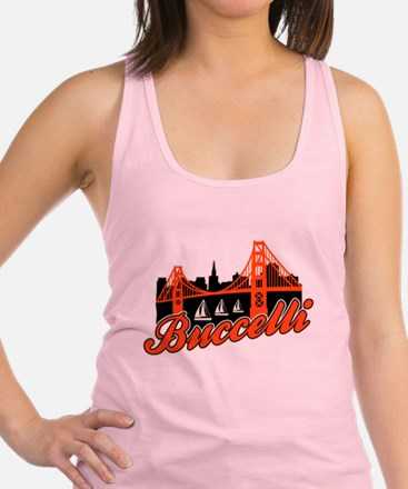 Buccelli City by the Bay Racerback Tank Top