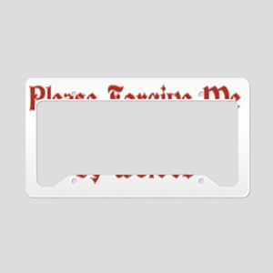 Raised by Wolves License Plate Holder