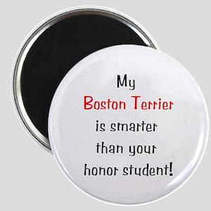 My Boston Terrier is smarter... Magnet