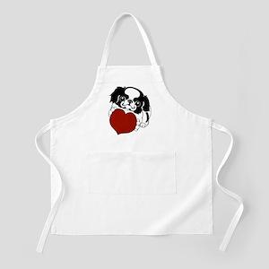 Japanese Chin Heart BBQ Apron