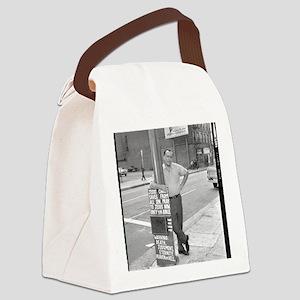 BUKOWSKI BY SAM CHERRY Canvas Lunch Bag