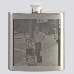 BUKOWSKI BY SAM CHERRY Flask