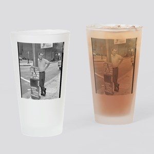 BUKOWSKI BY SAM CHERRY Drinking Glass