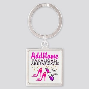 PARALEGAL DIVA Square Keychain