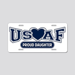 Air Force Daughter Aluminum License Plate