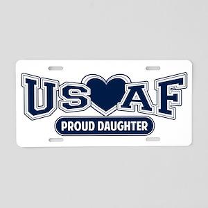 Air Force Daughter Aluminum License Plate