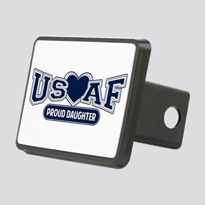 Air Force Daughter Rectangular Hitch Cover