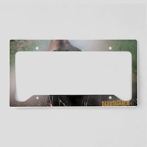 Buffalo Dakotagraph poster License Plate Holder