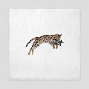 Cat Leap - Queen Duvet