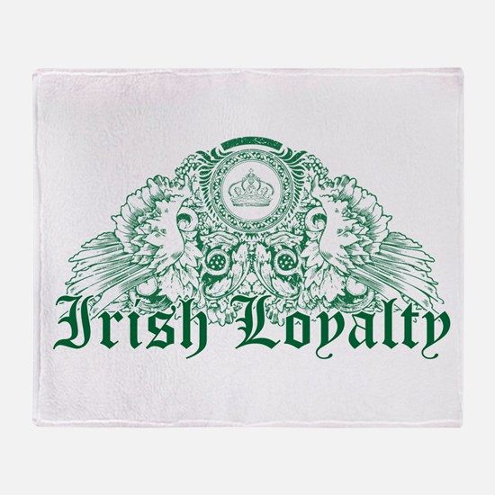 Irish_Loyalty Throw Blanket