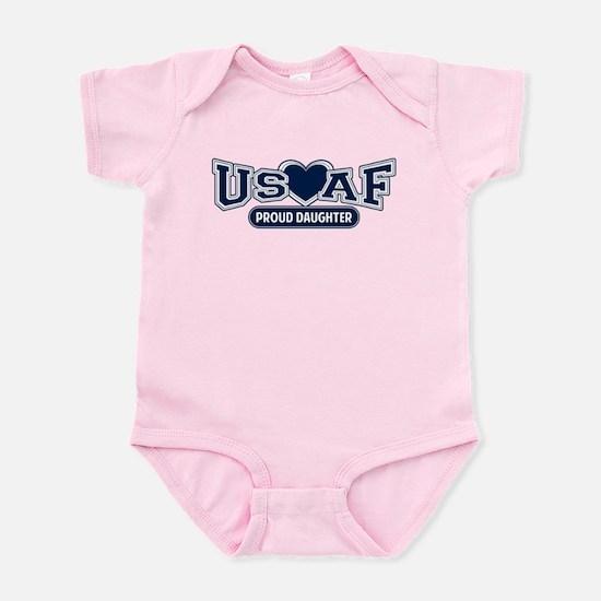 Air Force Daughter Infant Bodysuit