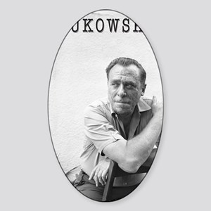 BUKOWSKI BY SAM CHERRY Sticker (Oval)