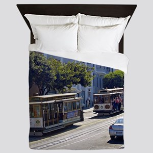 SanFrancisco001 Queen Duvet