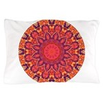Sunburst Mandala Pillow Case