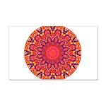 Sunburst Mandala 20x12 Wall Decal