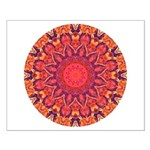 Sunburst Mandala Small Poster