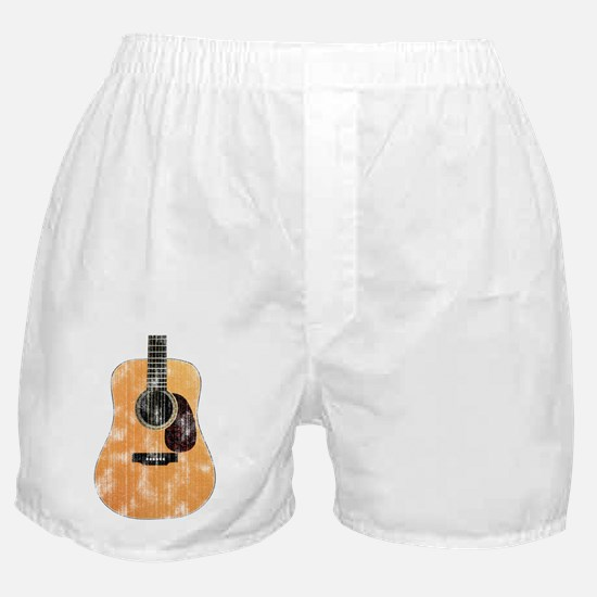 Acoustic Guitar (worn) Boxer Shorts