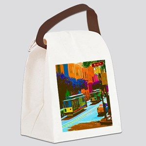 SanFrancisco004 Canvas Lunch Bag