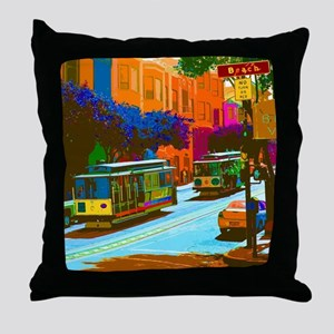 SanFrancisco004 Throw Pillow
