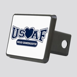 Air Force Granddaughter Rectangular Hitch Cover