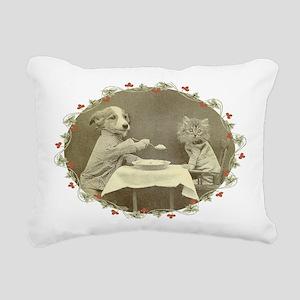 feedme Rectangular Canvas Pillow
