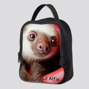 Neoprene Lunch Bag With Lil Alfie The Baby Sloth