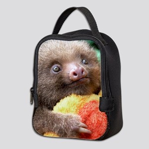 Neoprene Lunch Bag Starring Mateo The Baby Sloth
