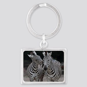 Zebra005 Landscape Keychain