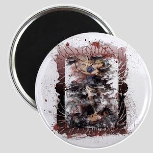 Defeat the Devil (black) Magnet