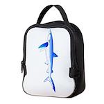 Blue Shark c Neoprene Lunch Bag