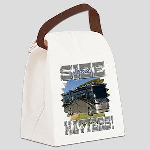 Size Matters Class A Motorhome Canvas Lunch Bag