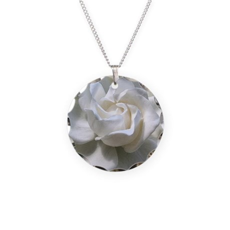 Exceptionnel Jewelry. GARDENIA Mpad Necklace Circle Charm