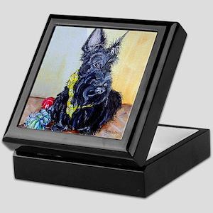 Scottish Terrier MacGregor Keepsake Box