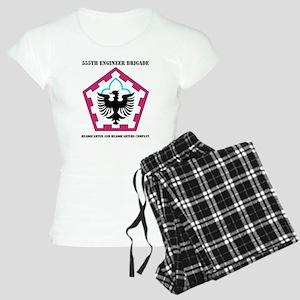 555 ENGINEER BRIGADE HQ AND Women's Light Pajamas