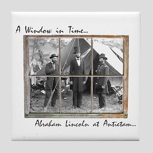 Antietam-Abraham Lincoln Tile Coaster