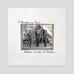 Antietam-Abraham Lincoln Queen Duvet
