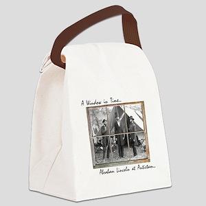 Antietam-Abraham Lincoln Canvas Lunch Bag
