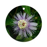 Passionflower Ornament (Round)