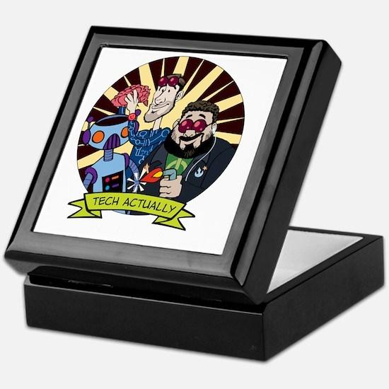 Tech-Pocket-Black Keepsake Box