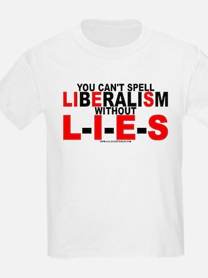 LIbEraliSm - LIES Kids T-Shirt