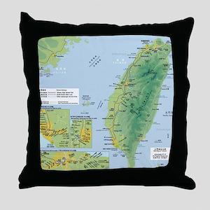 taiwanrail Throw Pillow