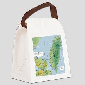 taiwanrail Canvas Lunch Bag