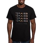 Team OCD Men's Fitted T-Shirt (dark)