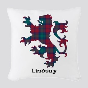 Lion - Lindsay Woven Throw Pillow
