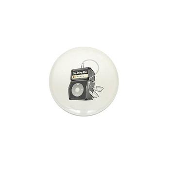 Six-String Bliss Mini Button