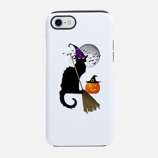 Le Chat Noir - Halloween Witch iPhone 7 Tough Case