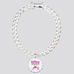 TOP LAWYER Charm Bracelet, One Charm
