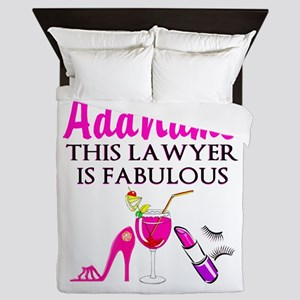 TOP LAWYER Queen Duvet